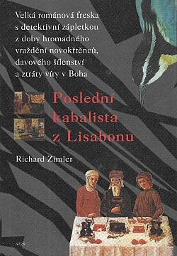 Poslední kabalista z Lisabonu obálka knihy