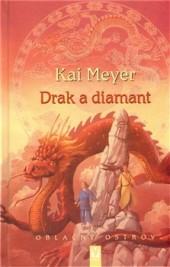 Drak a diamant obálka knihy