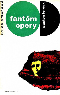 Fantóm opery obálka knihy