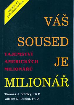 Váš soused je milionář obálka knihy