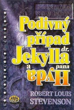 Podivný případ dr. Jekylla a pana Hyda obálka knihy