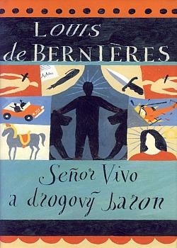 Seňor Vivo a drogový baron obálka knihy