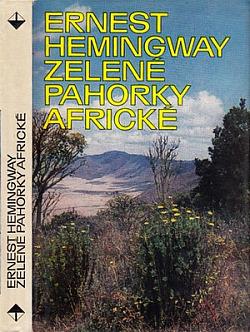 Zelené pahorky africké obálka knihy
