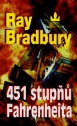 451 stupňů Fahrenheita obálka knihy