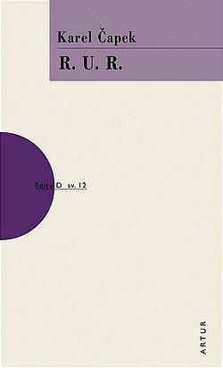 R.U.R. obálka knihy