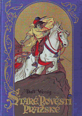 Staré pověsti pražské obálka knihy