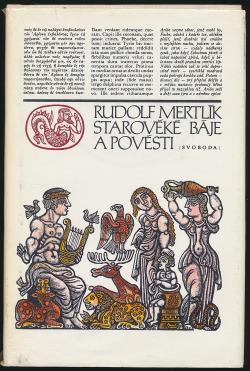 Starověké báje a pověsti obálka knihy