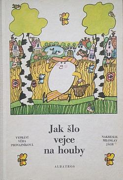 Jak šlo vejce na houby obálka knihy