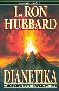 Dianetika - Moderní věda o duševním zdraví obálka knihy