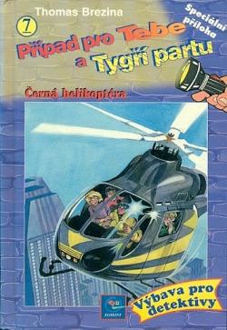 Černá helikoptéra obálka knihy