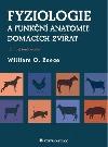 Fyziologie a funkční anatomie domácích zvířat obálka knihy
