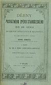 Dějiny posvátného zpěvu staročeského od XV. věku do zrušení literátských bratrstev