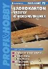 Sádrokarton - Stavby a rekonstrukce obálka knihy