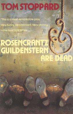 Rosenkrantz a Guildenstern jsou mrtvi obálka knihy