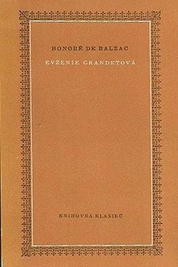Evženie Grandetová obálka knihy