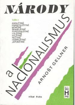 Národy a nacionalismus obálka knihy