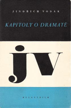 Kapitoly o dramatě obálka knihy