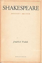 Shakespeare: Kritikův breviář obálka knihy