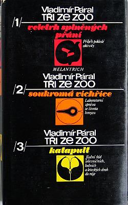 Tři ze zoo obálka knihy