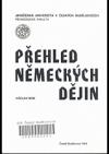 Přehled německých dějin pro posluchače germanistiky