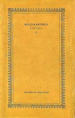 Loutka I. obálka knihy
