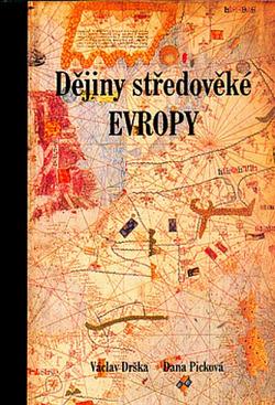 Dějiny středověké Evropy obálka knihy