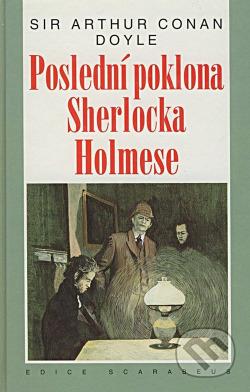 Poslední poklona Sherlocka Holmese obálka knihy