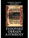 Židovské obřady a symboly obálka knihy