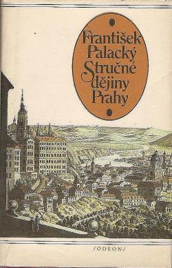 Stručné dějiny Prahy obálka knihy