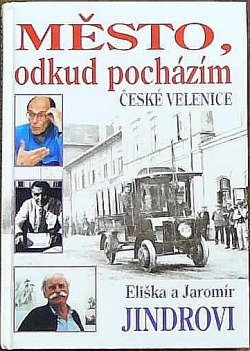Město, odkud pocházím - České Velenice obálka knihy