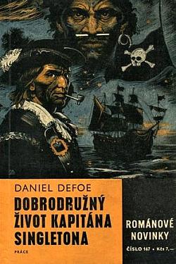 Dobrodružný život kapitána Singletona obálka knihy