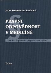 Právní odpovědnost v medicíně obálka knihy