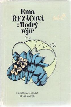 Modrý vějíř obálka knihy