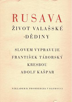 Rusava obálka knihy