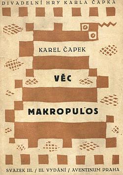 Věc Makropulos obálka knihy