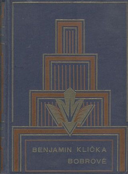 Bobrové obálka knihy