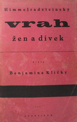 Himmelradsteinský vrah žen a dívek obálka knihy