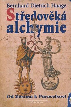 Středověká alchymie obálka knihy