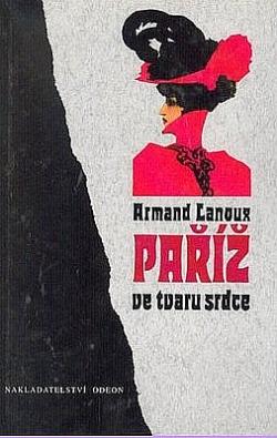 Paříž ve tvaru srdce obálka knihy