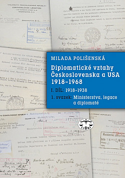 Diplomatické vztahy Československa a USA 1918-1968 obálka knihy