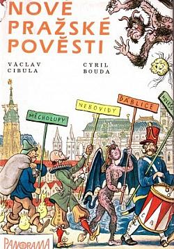 Nové pražské pověsti obálka knihy