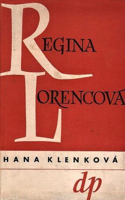 Regina Lorencová obálka knihy