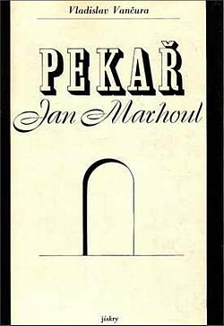 Pekař Jan Marhoul obálka knihy