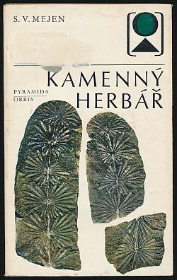 Kamenný herbář obálka knihy