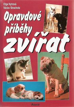 Opravdové příběhy zvířat obálka knihy