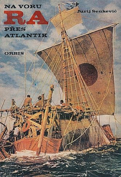 Na voru RA přes Atlantik obálka knihy
