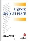 Slovník sociální práce obálka knihy