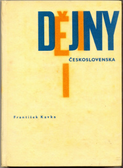 Dějiny Československa I - do roku 1437 obálka knihy