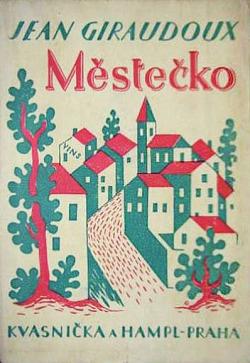 Městečko obálka knihy