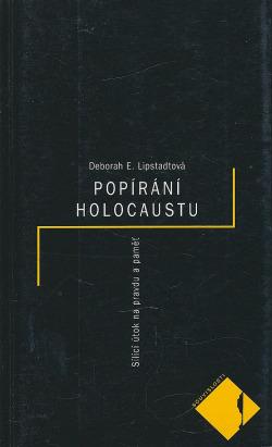 Popírání holocaustu obálka knihy